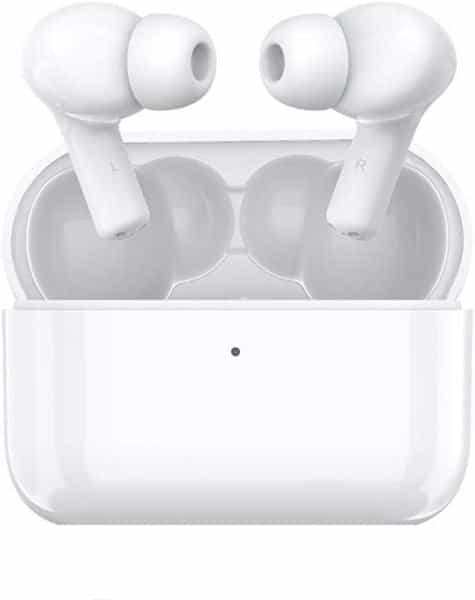 Honor CHOICE TWS Waterproof Bluetooth Wireless Noise Cancelling Earphones with Dual Microphone - White