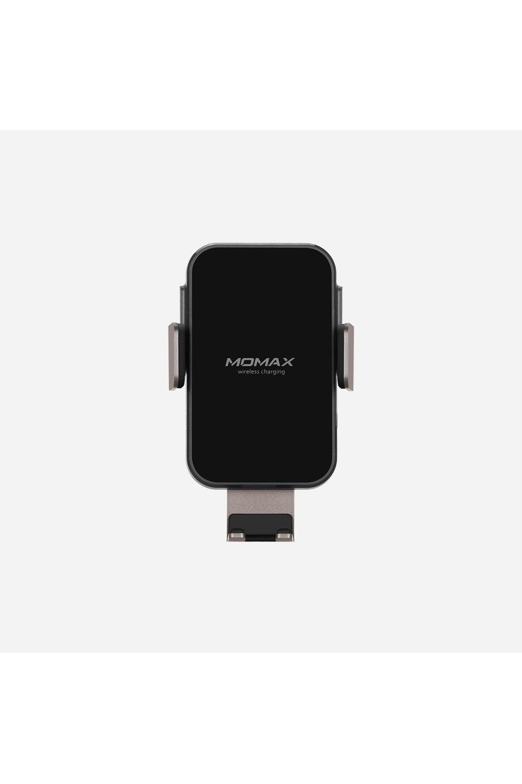 Momax Wireless Charger with Mobile Stand, Black - CM11DH