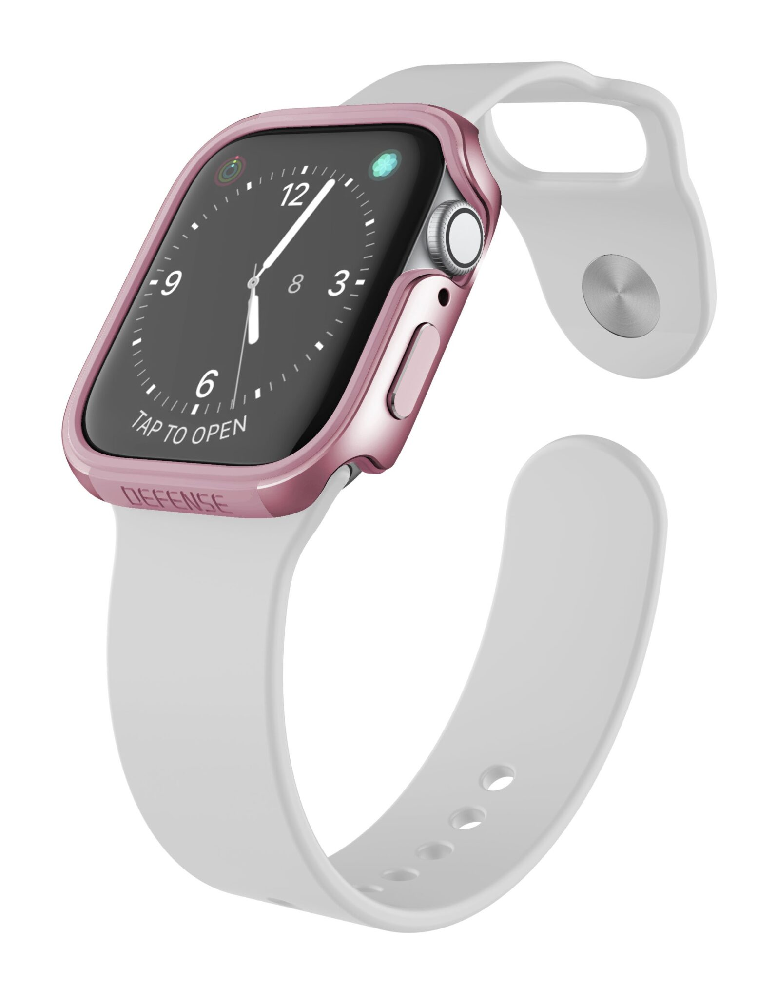 Raptic Edge Defense Case for Apple Watch 44mm Rose Gold