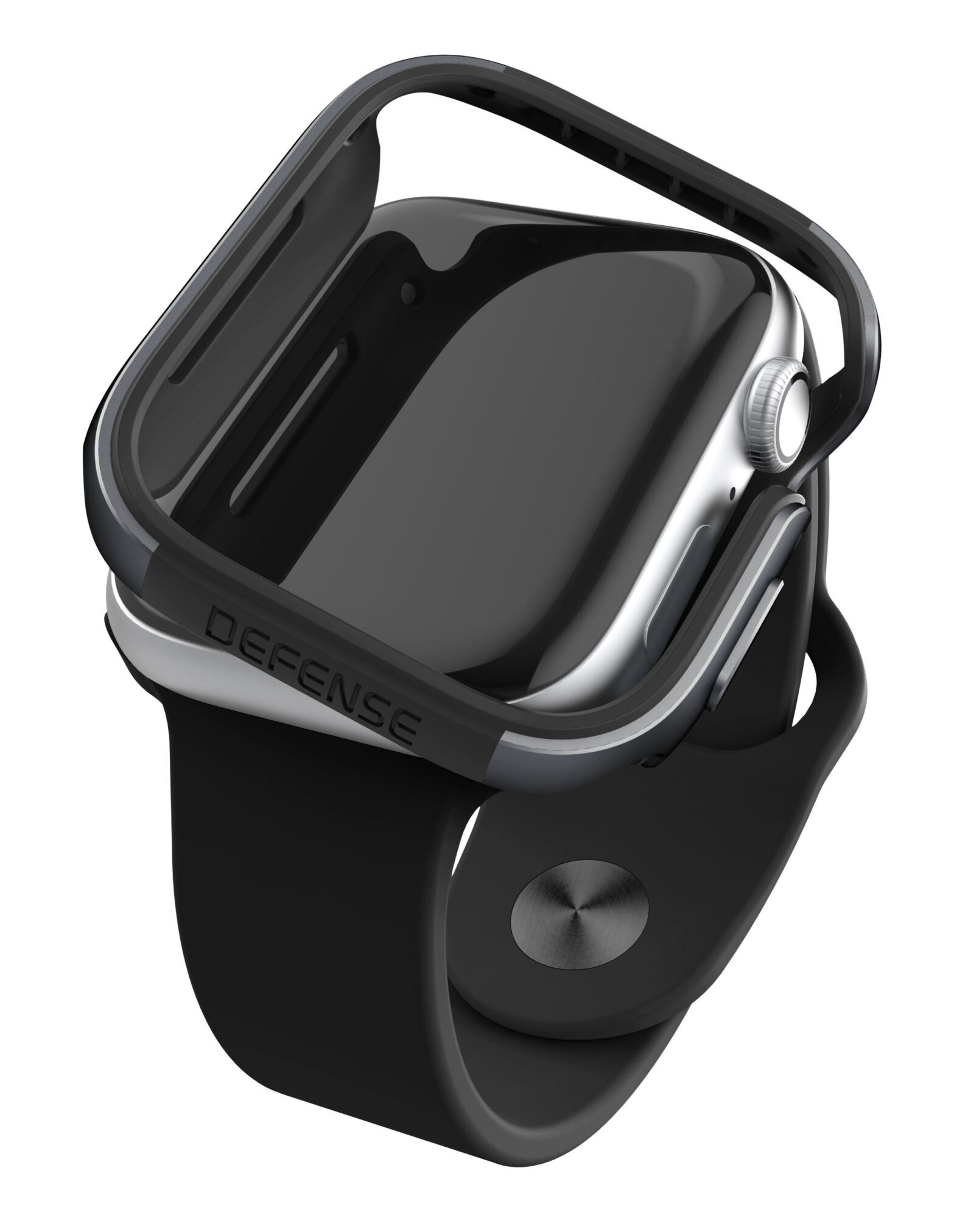 Raptic Edge Defense Case for Apple Watch 44mm Charcoal