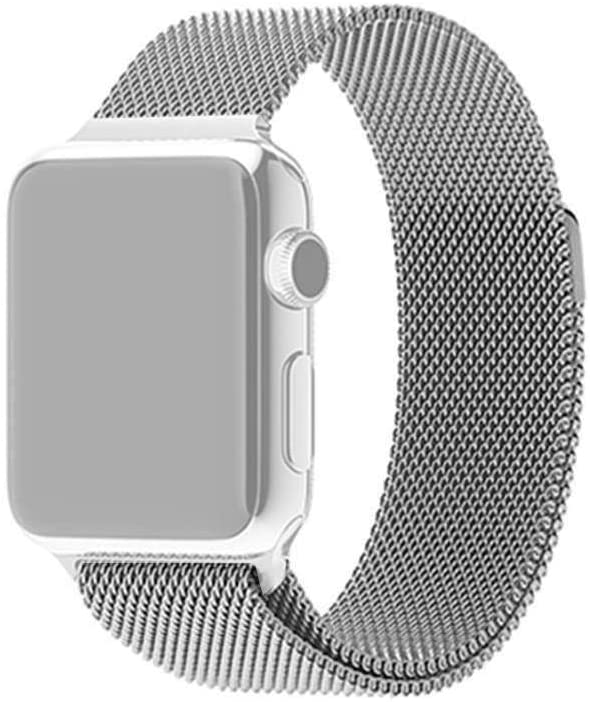 X-Doria Mesh Band for Apple watch 42mm/44mm-Silver